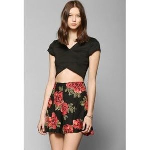 Urban Outfitters Flowy Floral Shorts High Waisted